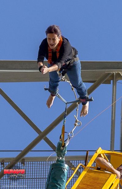 experiencia bungee jumping