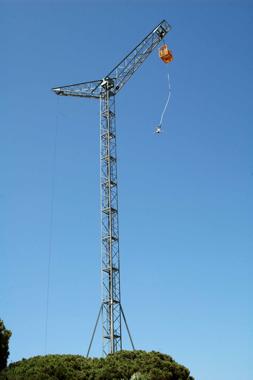 torre de salto Bungee
