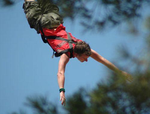 Tipos de saltos en Bungee Jumping Lloret de Mar