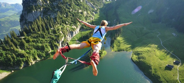 historia bungee jumping