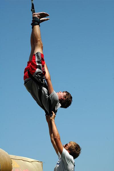 land master - bungee jump